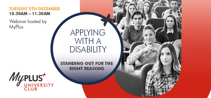 Applying With A Disability   Tuesday 8th December