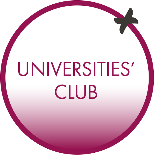 Universities Club Button UK